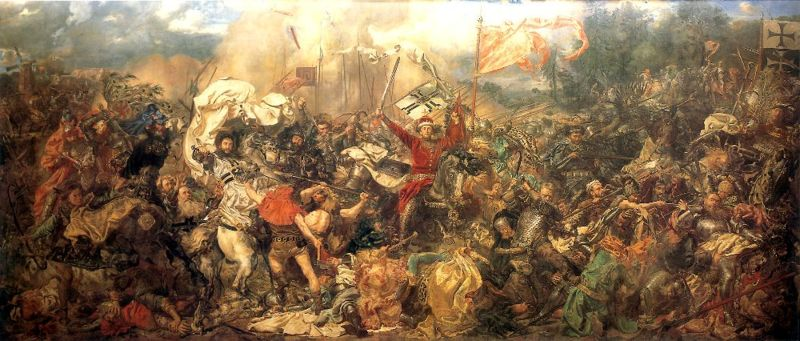 Jean Matejko, Bataille de Grunwald, 1878